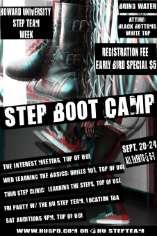 Attn To All Steppers The Howard University Step Team